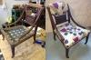 Oud Engels 'nursing' stoel
